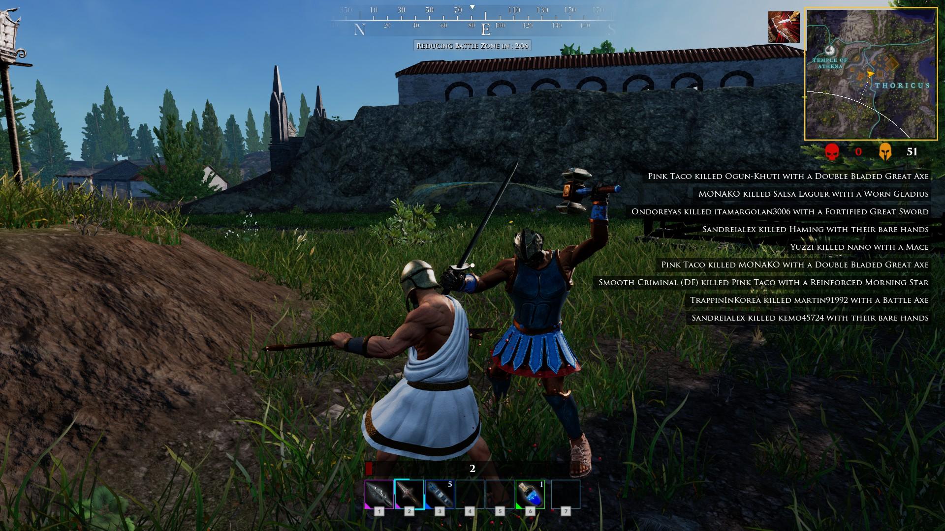 Zeus' Battlegrounds Screenshot