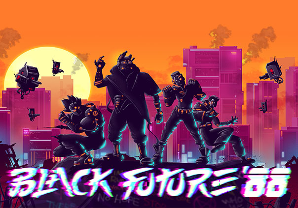 Black Future 88 Game Profile Image