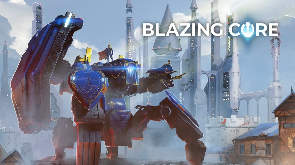 Blazing Core Open Beta Header