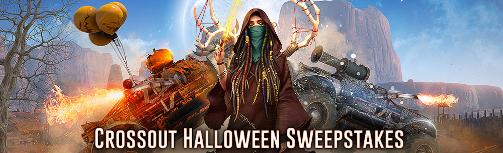 Crossout Halloween Giveaway Wide Banner