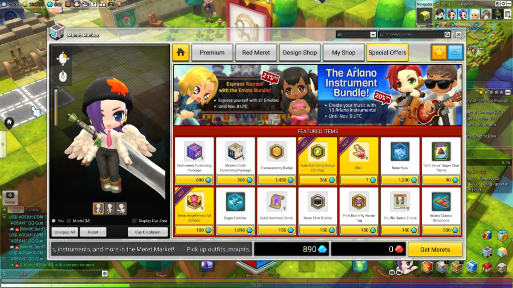 MapleStory 2 Review Screenshot