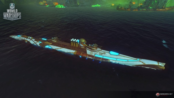World of Warships Terror of the Deep -image