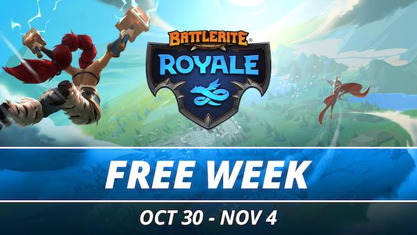 Battlerite Royale Free Week