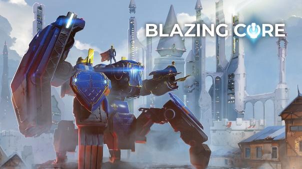 Blazing Core Open Beta Header