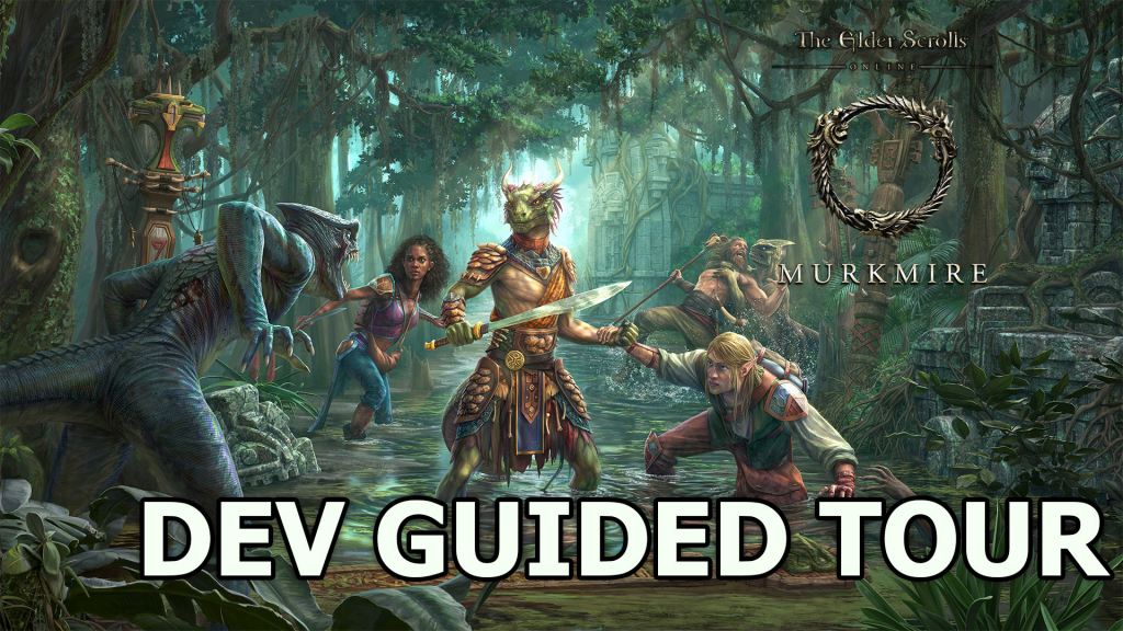 Zenimax guides Jason through the new ESO Murkmire expansion!