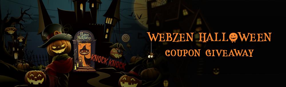 Webzen Halloween Wide Banner