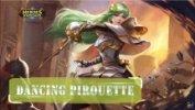Heroes Evolved Dancing Pirouette Mulan Screenshot