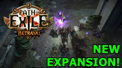 Grinding Gear Games announces their biggest Path of Exile expansion to date: Betrayal!