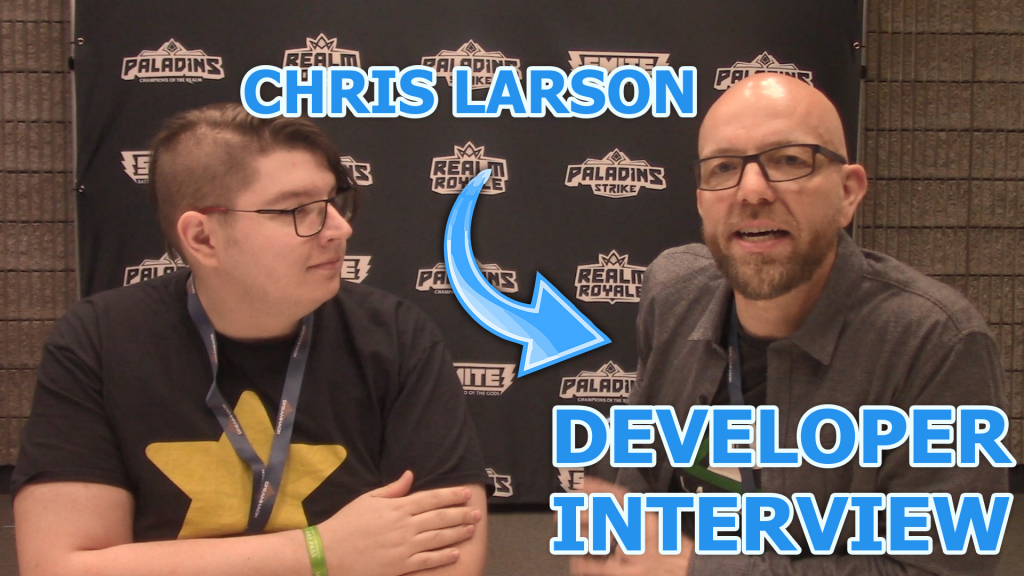 Colton sits down with Chris Larson, GM for Paladins, Smite, and Realm Royale.