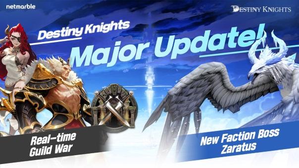 Destiny Knights Guild War Update -image