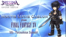 Dissidia Final Fantasy Opera Omnia Noctis splashart