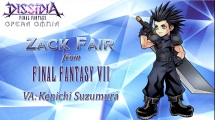 Dissidia Final Fantasy Opera Omnia Zack Fair Screenshot