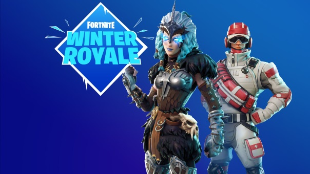 Fortnite Winter Royale Announcement Splash Art