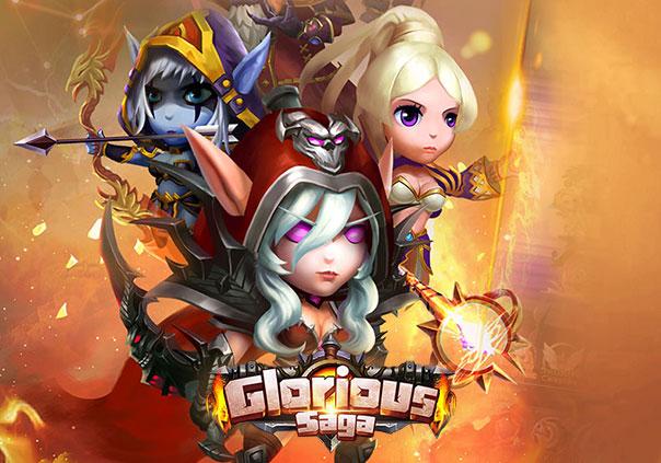 Glorious Saga Game Profile Banner