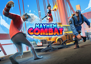 Mayhem Combat Game Profile Banner