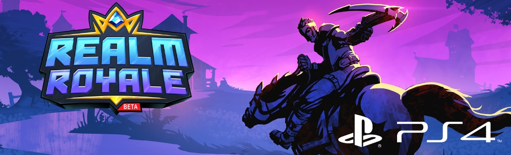 Realm Royale Giveaway PS4 Banner