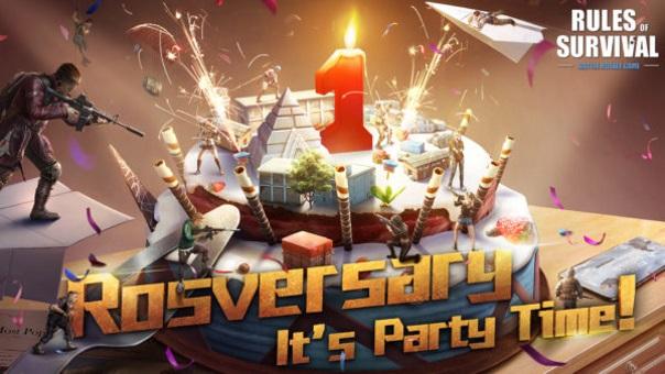 Rules of Survival Anniversary Event splash art