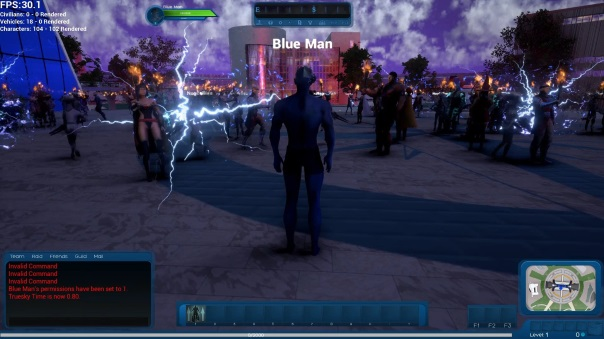 Ship of Heroes FPS Discussion