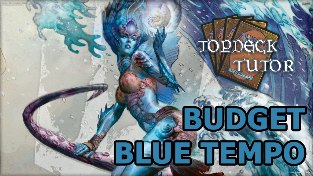 Jason discusses a brand-new Standard viable mono-Blue budget tempo deck.