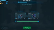 War Robots 4.5 Update Feature Component Conversion Screenshot