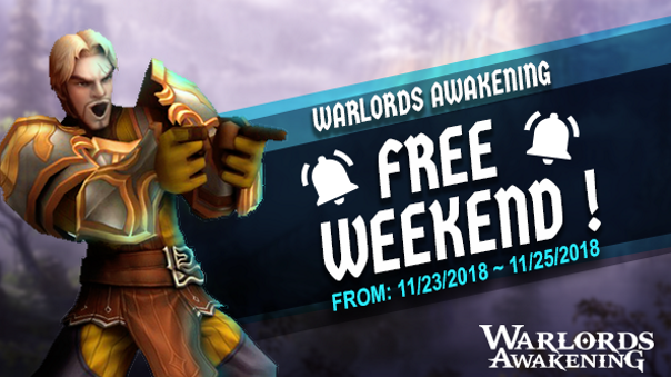 Warlords Awakening Free Weekend Splashart