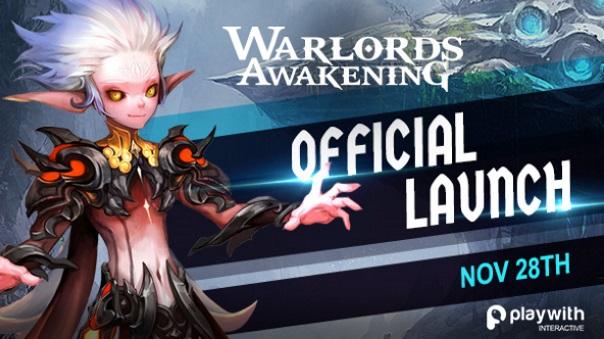 Warlords Awakening Official Launch News Splash art