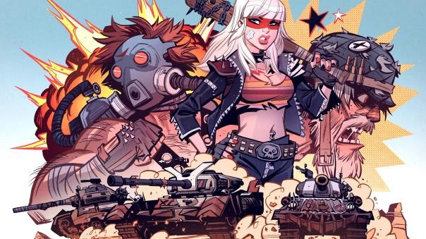 World of Tanks Mercenaries Outcasts Artwork