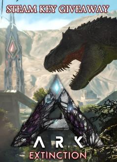 ARK Extinction Steam Key Giveaway Column