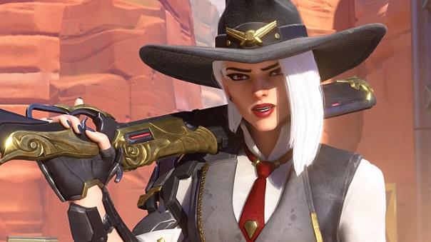Overwatch Ashe Screenshot