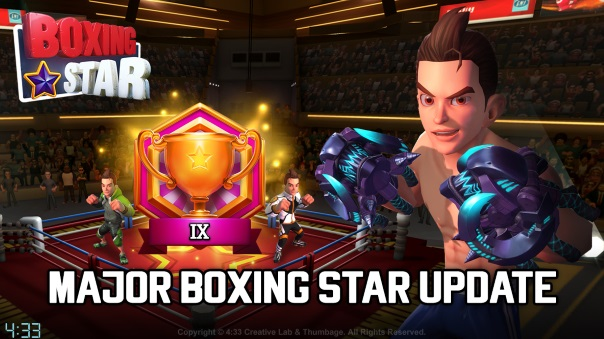 Boxing Star releases major update
