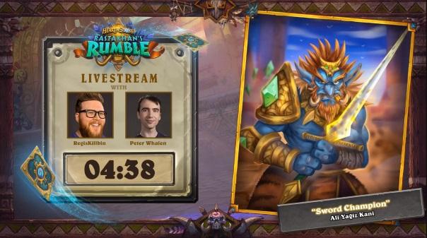 Hearthstone Rastakhan's Rumble Reveals Screenshot
