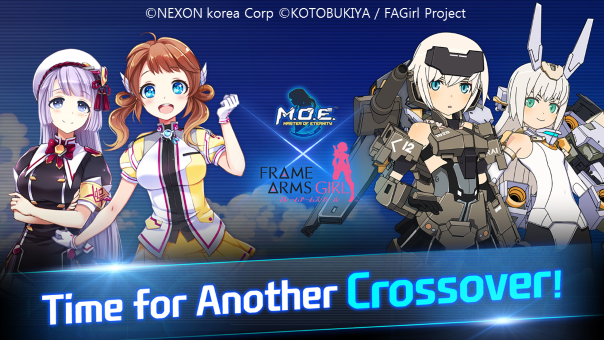 MOE - Frame Arms Girl crossover -image