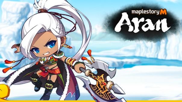 MapleStory M Aran Update screenshot