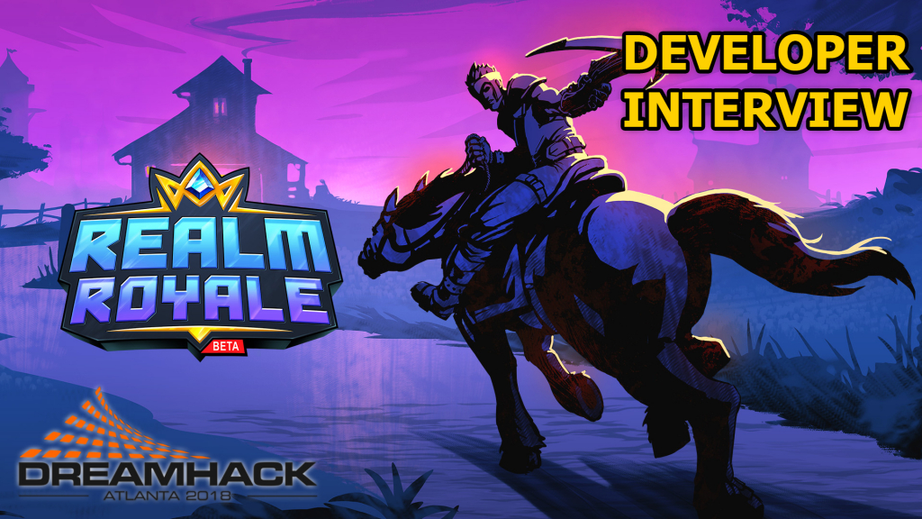 Colt sits down with Rory Newbrough to discuss the current and future state of Realm Royale!