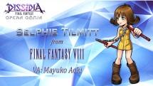 Dissidia Final Fantasy Opera Omnia Selphie screenshot