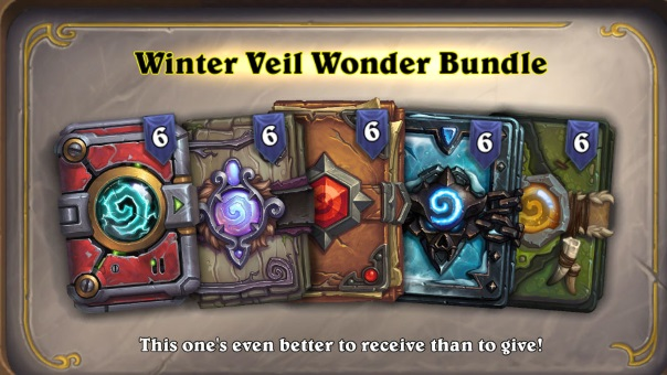 Hearthstone Winter Veil 2018 News