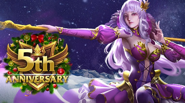 League of Angels 5th Anniversary