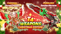 Logres JRPG Christmas Weapons