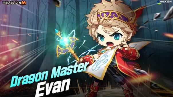 Maplestory M Evan release