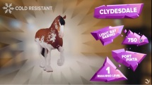 Star Stable Clydesdales