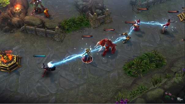 Vainglory Enters PC Alpha screenshot