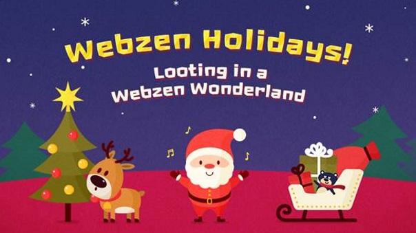 Webzen Winter Wonderland news