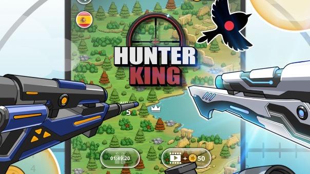 Hunter King Launch Header