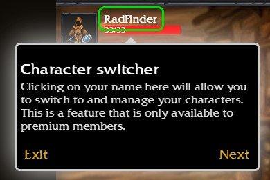 Initium Character Switcher