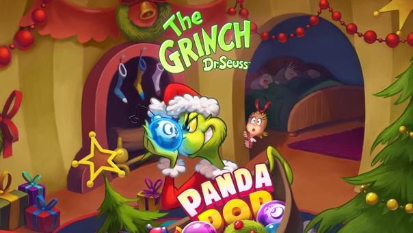 Panda Pop Grinchmas
