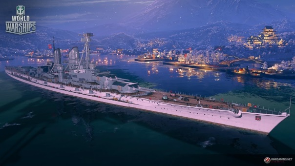 World of Warships holiday update