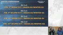 Brawlhalla Dev Stream Montage - Winter Championships