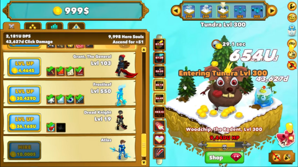 Clicker Heroes Video Thumbnail