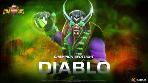 Marvel Contest of CHampions Diablo Spotlight