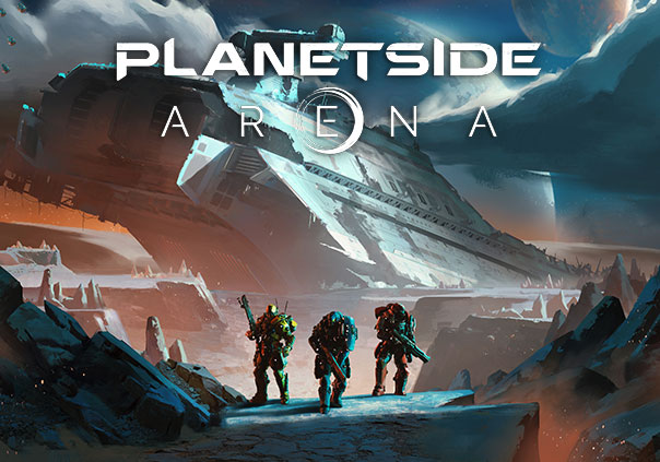 Planetside Arena Game Profile Banner